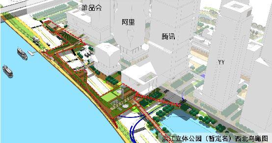 温溪洲头新区规划图