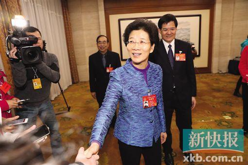 李玉妹为代表'点赞':广东团所提议案建议近八成被采纳