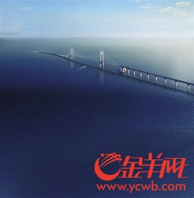 深中通道将建全球最高海中大桥 预计年底主体隧道开工