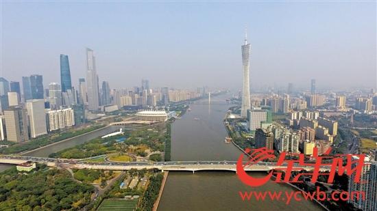 珠江新城CBD、海心沙、广州塔……都在广州大桥周边