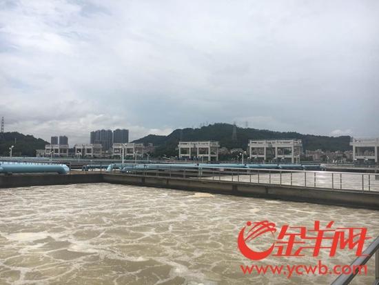 东深供水原水生物硝化处理工程