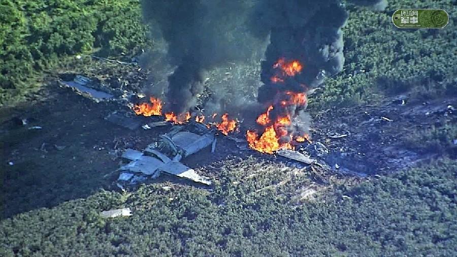 美军KC130坠毁 已发现8具尸体