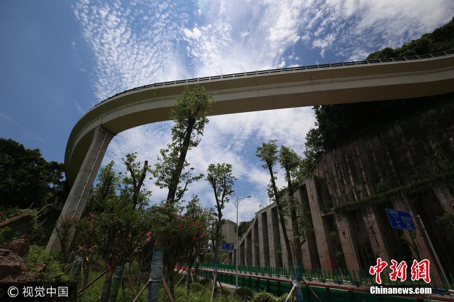 """这路很重庆!重庆城区现""""空中悬廊""""观光步道"""
