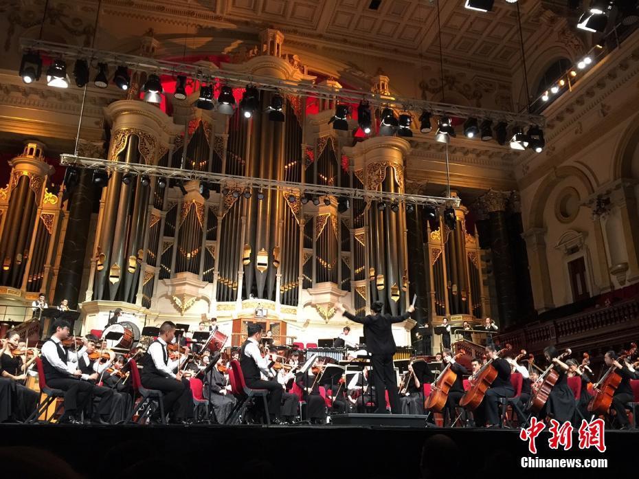 广州青年交响乐团亚太巡演悉尼音乐会征服澳大利亚观众