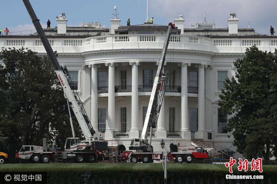美国白宫时隔70年再次大规模装修 特朗普给17天工期