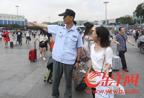 为了广州的干净整洁,这群人坚守国庆假期的工作岗位