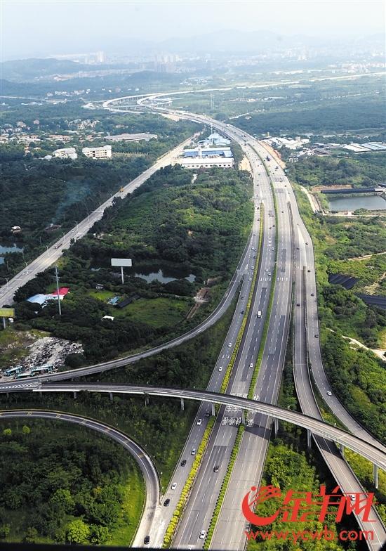 广东省高速公路建设取得丰硕成果