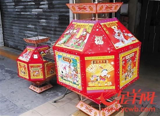王藻记花灯:一盏花灯传承八十载 百余工序纯手工制作