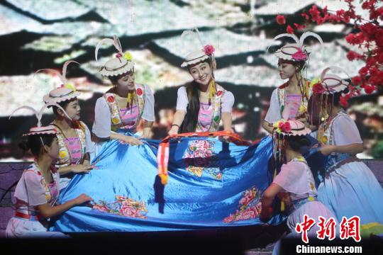 原生态舞剧《池哥昼》展现白马人古朴民俗