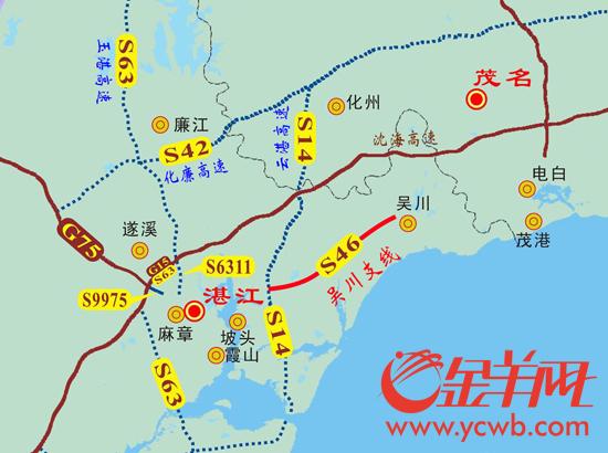 吴川塘缀最新规划图
