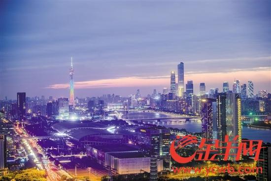 琶洲会展中心,夜色璀璨