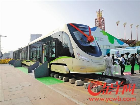 氢能源有轨电车展示