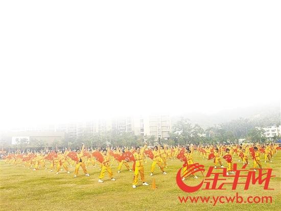 香洲学生体育活动丰富多彩