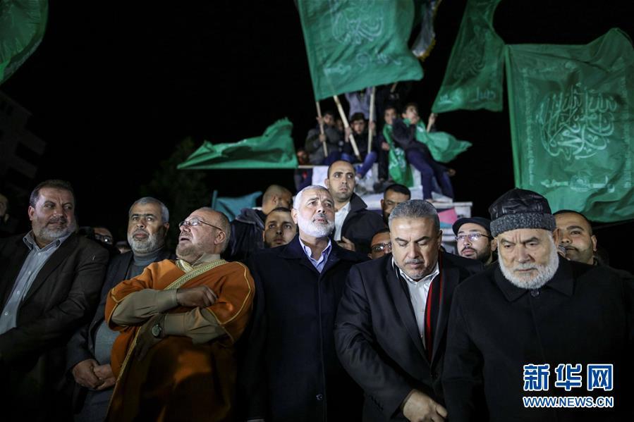 巴勒斯坦多地抗议美承认耶路撒冷为以色列首都