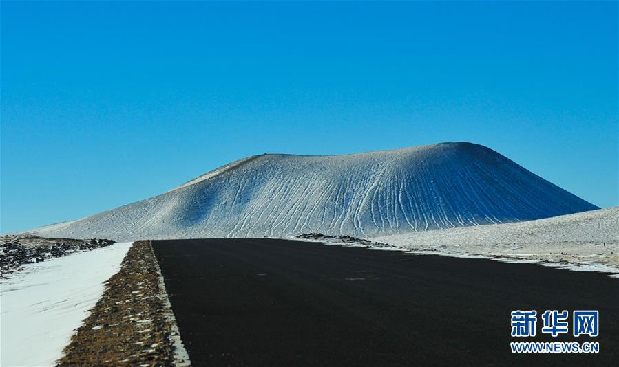 内蒙古自治区冰雪火山