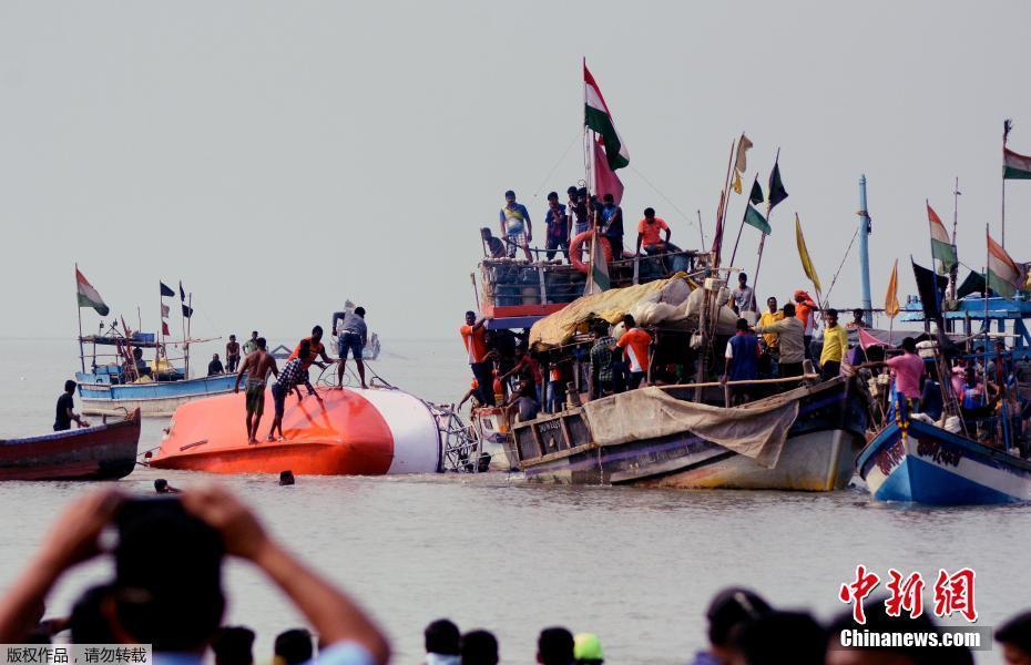 印度一艘载有学生的渡船在阿拉伯海沉没