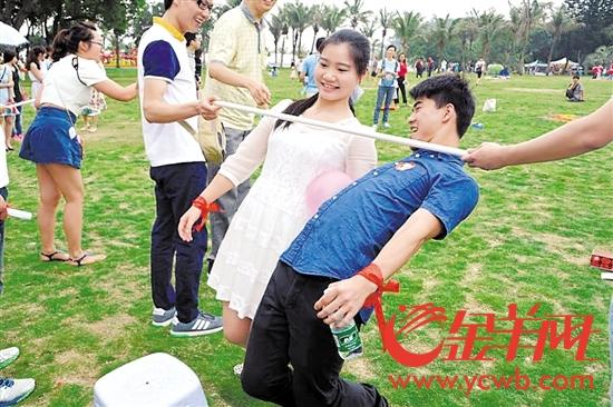 共青团珠海市委经常组织相亲结走活动