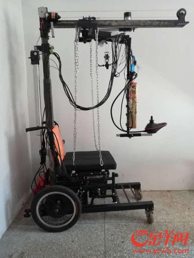 民间达人秀 市民发明多功能轮椅,创新辅助残疾人生活图片
