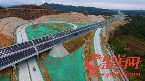 北三环高速二期今日正式通车 珠三角高速环线全线贯通
