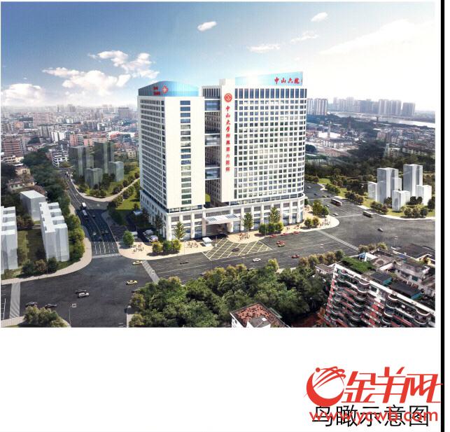 中山六院将建二期 未来床位达2202张