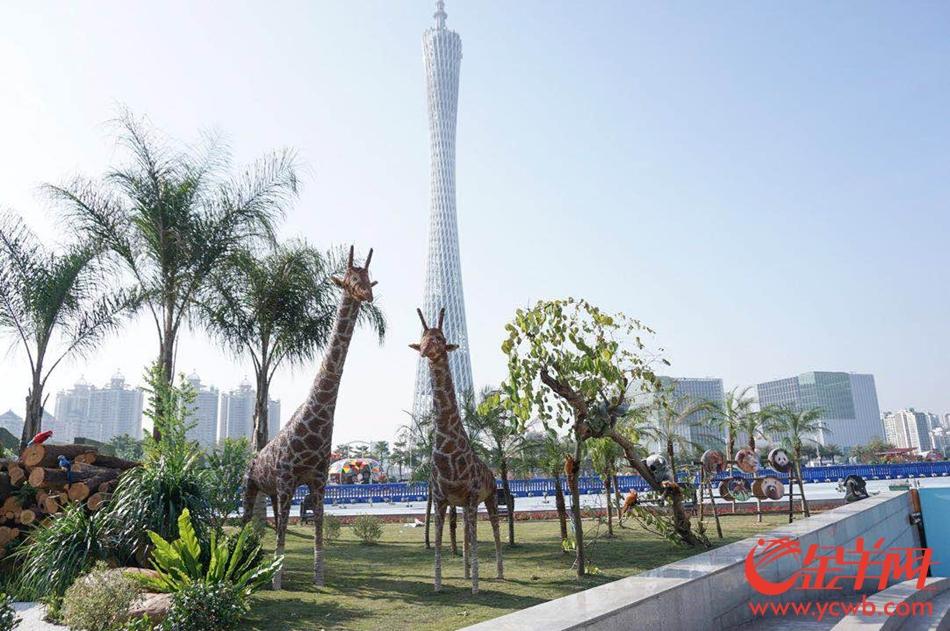 第二十四届广州园博会开幕 春节假期广州又添新景观