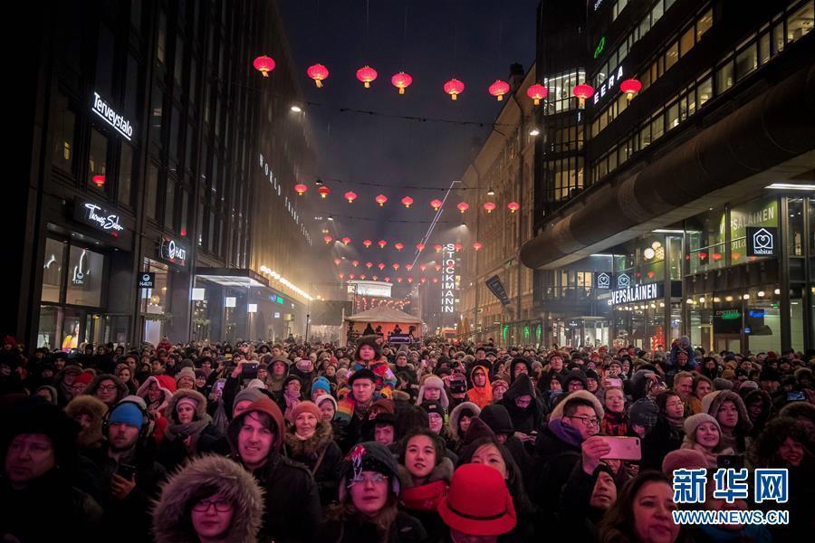 中国年火爆全球!看海外如何过春节