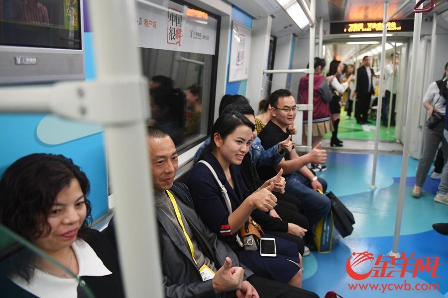 """""""中国很赞""""主题列车亮相钱柜娱乐999地铁八号线"""