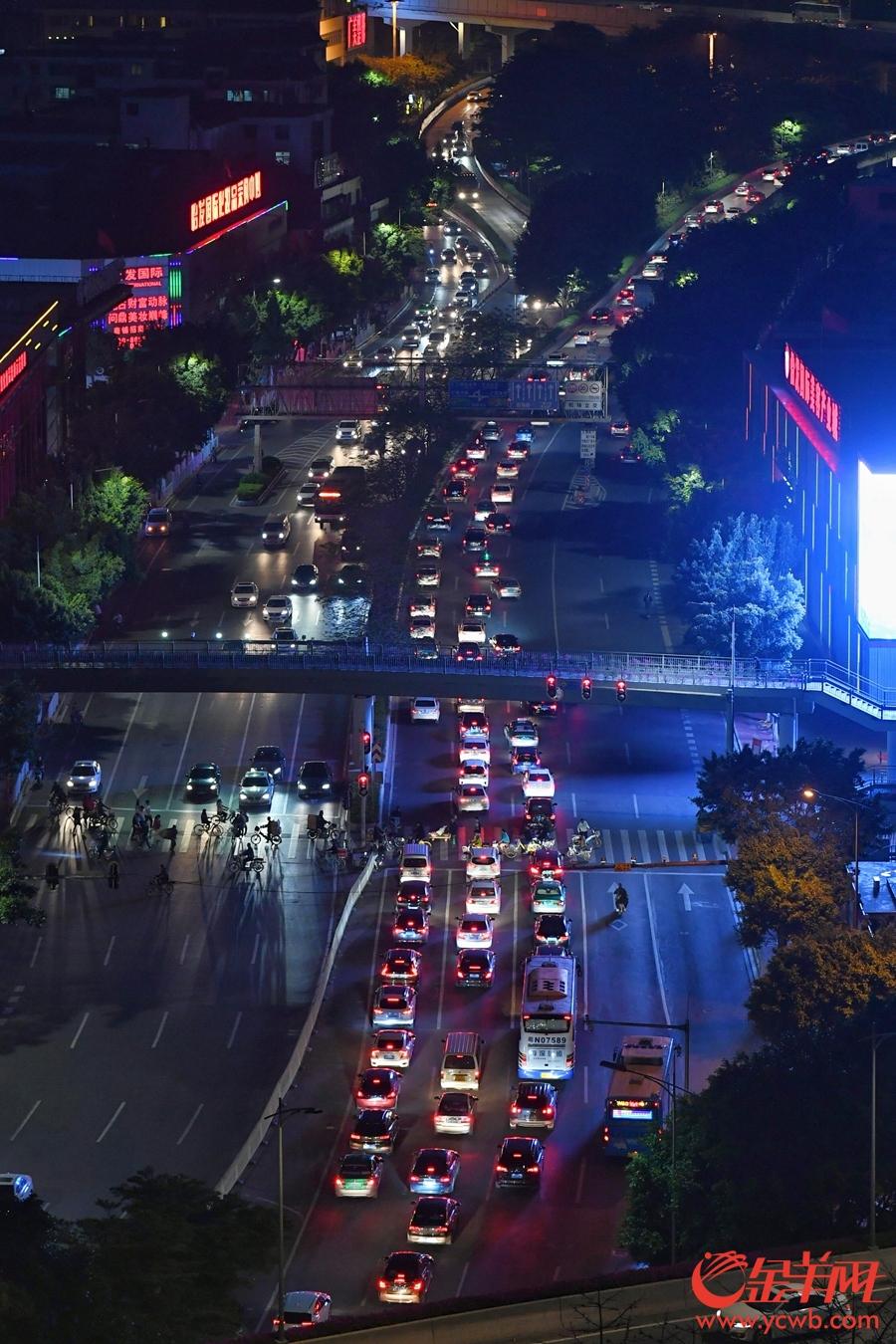 清明小长假结束 广州交通初显拥堵