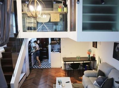 杭漂爆改23平米单身公寓 蜗居变豪宅实现大学梦想