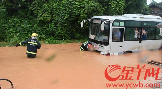 三天来广东各地消防共解救1504名被困人员