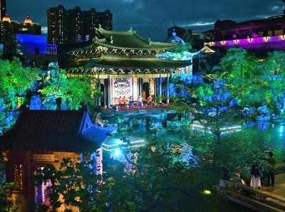 夜看粤剧艺术博物馆