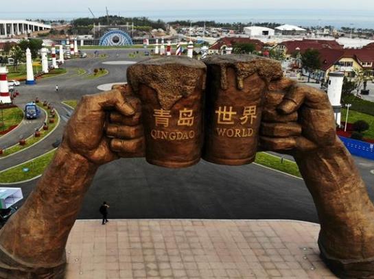 青島:備戰啤酒節