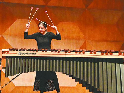 """21岁的王德如在星海音乐学院举办了""""鼓如诗--王德如打击乐音乐会"""".png"""