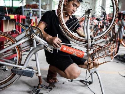 摩拜启动废旧车辆回收专项行动  逾6万辆单车再循环处理