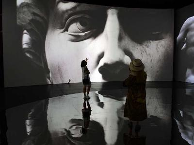 【图集】文艺复兴2018——意大利沉浸式多媒体艺术展今日盛大来临