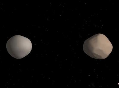 地球附近發現罕見雙小行星 天體尺寸大致相同