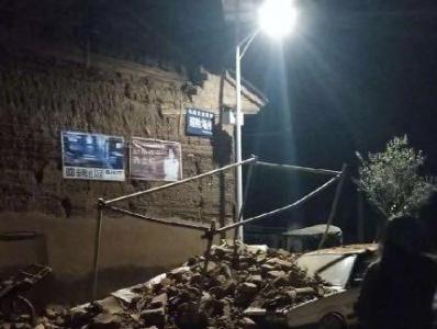 云南玉溪发生5.0级地震 个别房屋倒塌