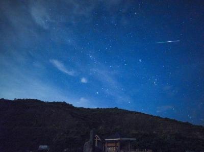 英仙座流星雨在香港夜空上演