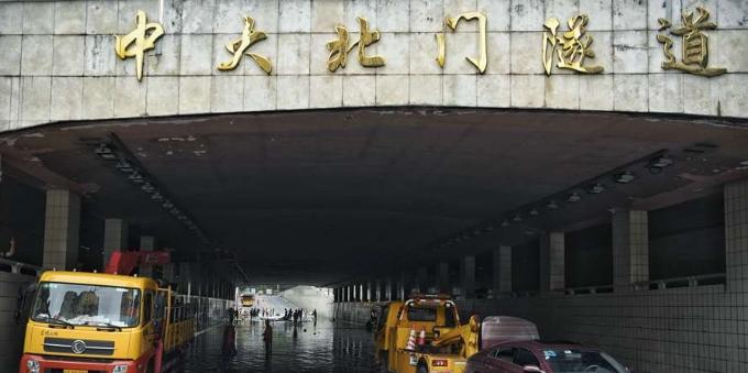 广州中大北门隧道即将恢复通行