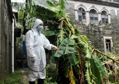 台风过境 灾后防疫情