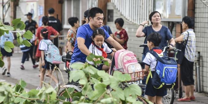 """""""山竹""""过后 广州中小学、幼儿园今天复课"""