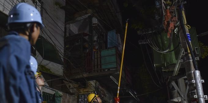 电力维修人员34小时连续奋战 海珠区全部公用设备复电