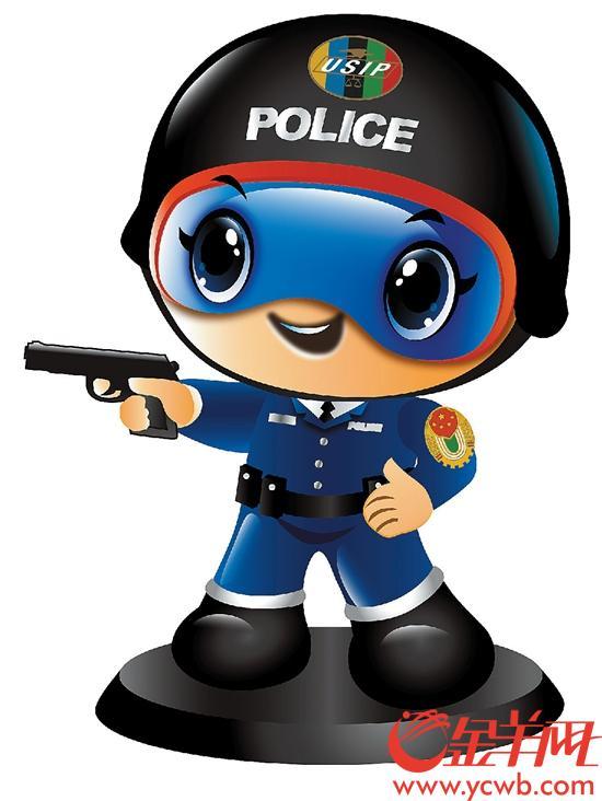 卡通小警察图片