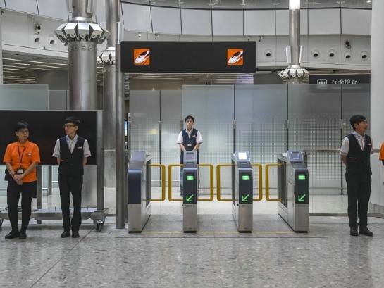香港西九龙站做好开通前的最后准备