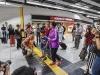 广深港高铁香港首发列车准时开出