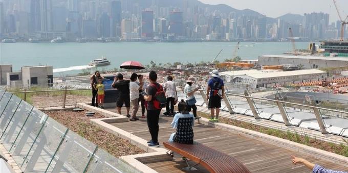 高铁西九龙站成为香港旅游新地标