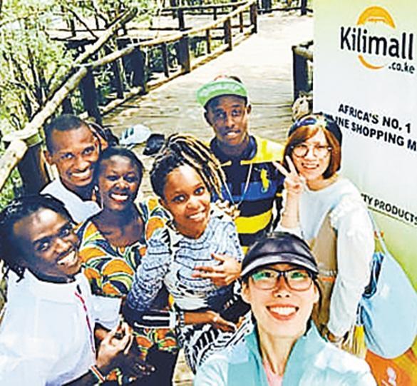 Kilimall一共有员工近200人,其中中国和非洲员工各占一半。.jpg