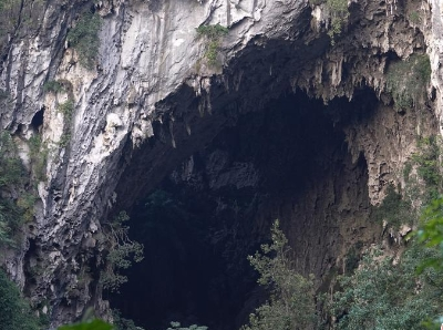 广西现世界级巨型洞穴大厅 深度超百米