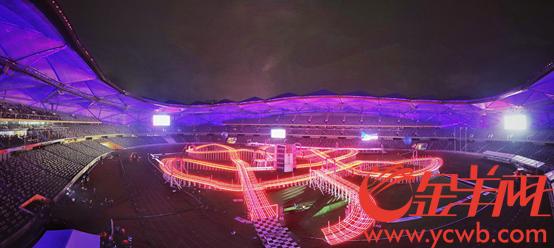 期待的世界无人机锦标赛终于开幕!艺术与科技实现深度融合