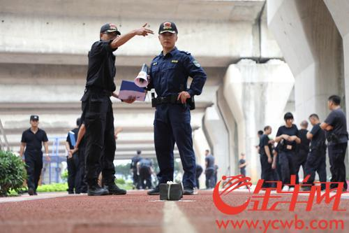 """真人对抗、实景模拟……广铁警方全员""""大练兵"""